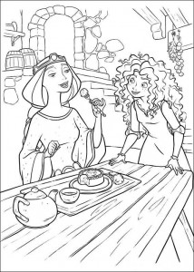 coloring page Brave (56)