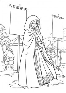 coloring page Brave (60)