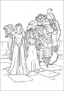 coloring page Brave (61)