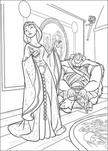 coloring page Brave (63)