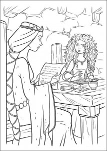 coloring page Brave (64)