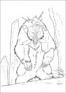 coloring page Brave (9)