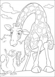 coloring page Bridget and Benny (1)