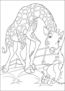 coloring page Bridget and Benny