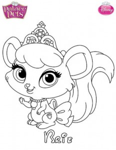 coloring page brie