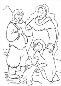 coloring page Brother Bear (1)