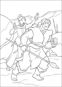 coloring page Brother bear 2 (10)