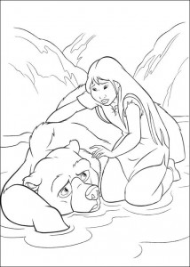 coloring page Brother bear 2 (15)