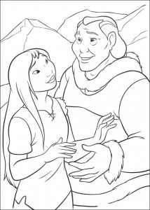 coloring page Brother bear 2 (16)