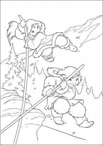 kleurplaat Brother bear 2 (21)