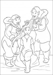 coloring page Brother bear 2 (22)