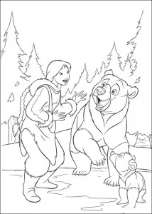 coloring page Brother bear 2 (26)