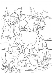 coloring page Brother bear 2 (29)
