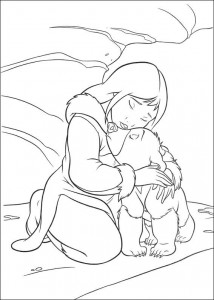 coloring page Brother bear 2 (3)
