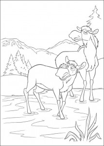 coloring page Brother bear 2 (30)