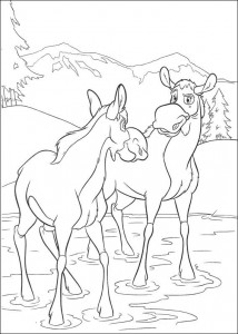 coloring page Brother bear 2 (33)
