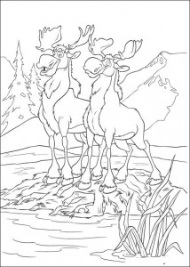 coloring page Brother bear 2 (34)