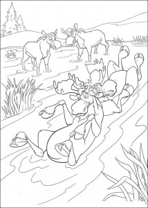 coloring page Brother bear 2 (35)