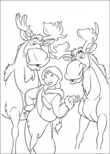 coloring page Brother bear 2 (44)