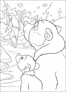 coloring page Brother bear 2 (5)