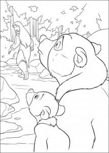 målarbok Brother bear 2 (5)