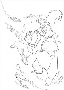 coloring page Brother bear 2 (51)
