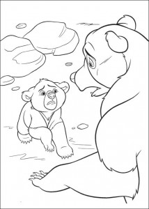 kleurplaat Brother bear 2 (53)