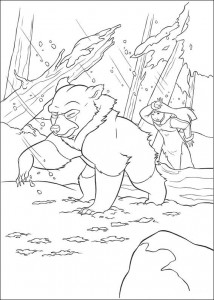 coloring page Brother bear 2 (54)