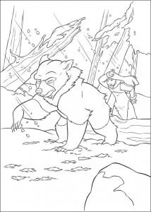 målarbok Brother bear 2 (54)