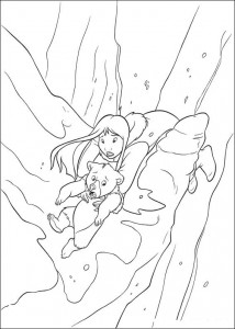 coloring page Brother bear 2 (55)