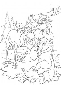 coloring page Brother bear 2 (7)