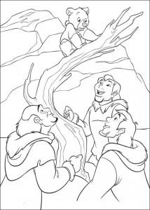 kleurplaat Brother bear 2 (8)
