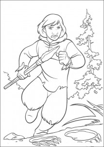 coloring page Brother Bear (4)