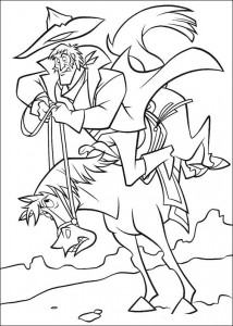 coloring page Bruce (1)