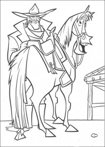 coloring page Bruce (2)