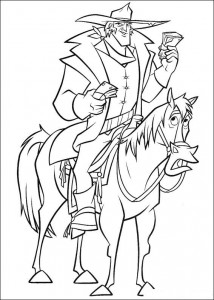 coloring page Bruce (3)