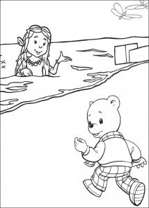 coloring page Brown bear (23)