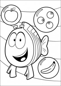 målarbok Bubble Guppies (2)