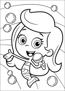coloring page Bubble Guppies (3)
