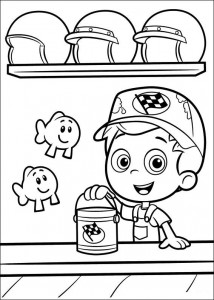 coloring page Bubble Guppies (5)