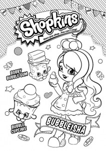 bubbleeisha coloring page