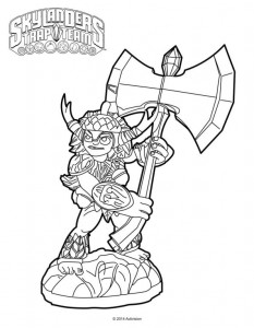 coloring page bushwhack