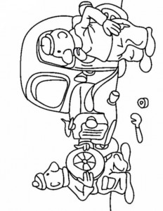 coloring page Buurman and Buurman (1)