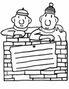 coloring page Buurman and Buurman (3)
