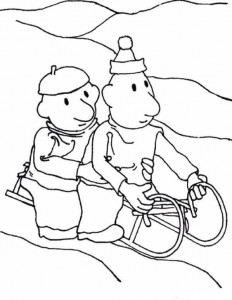 coloring page Buurman and Buurman (5)