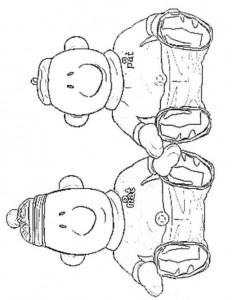 coloring page Buurman and Buurman (6)