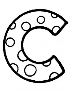 coloriage C