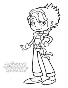 coloring page CanaryYellow