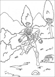 coloring page Captain America (10)