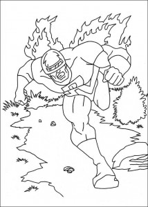 coloring page Captain America (15)